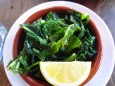 kitchen denver sauteed greens with garlic