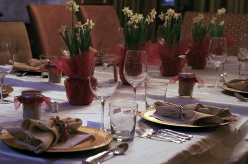 table setting NYE 2013