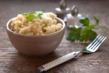 potatoes and celeriac with boursin cheese