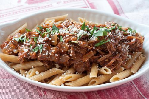 lamb ragu and pasta 1