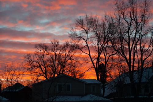 morning sky 2013