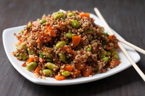 asian quinoa salad 1