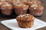 banana quinoa oatmeal muffins 1