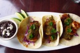 black pearl denver shrimp tacos