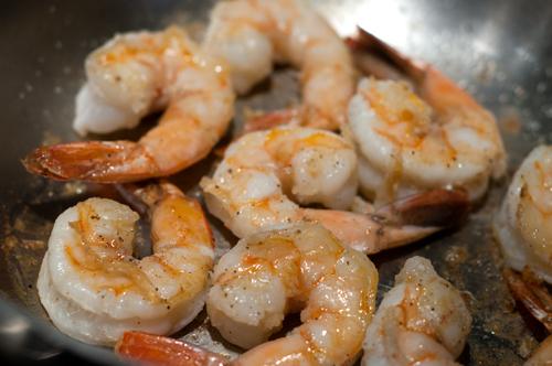 shrimp soup cooked shrimp