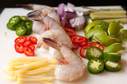 shrimp soup ingredients