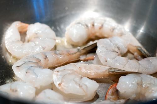 shrimp soup shrimp cooking