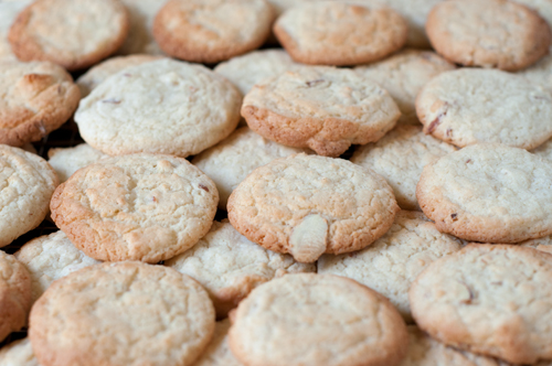 lemon almond cookies 1