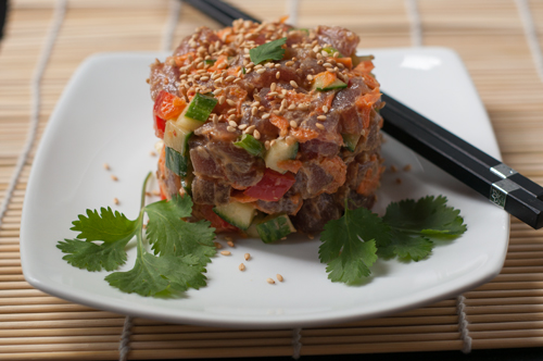 tuna tartare salad 1