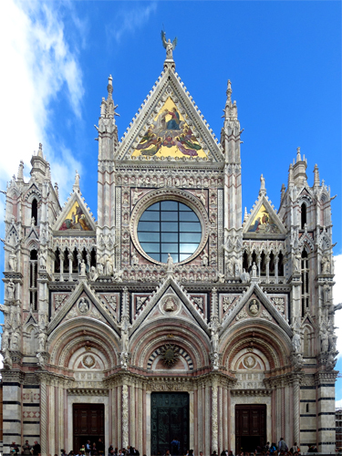 13 hill towns of tuscany siena cathedral
