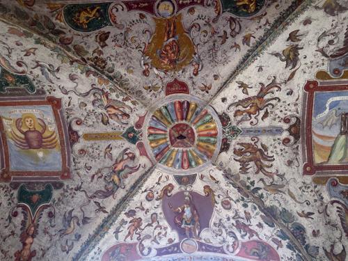 2 fresco ceiling
