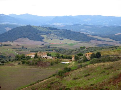 3 hill towns of tuscany italy