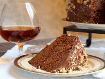 chili chocolate bourbon cake