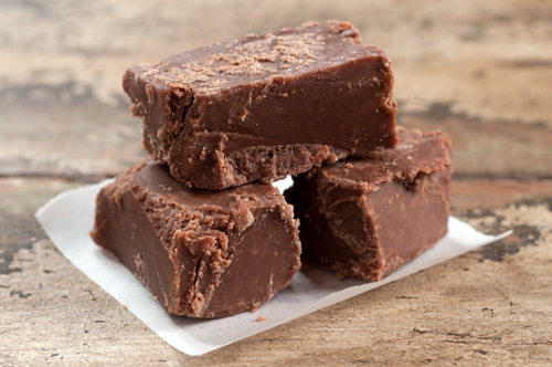 chocolate peanut butter fudge 1