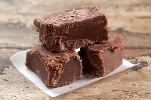 chocolate peanut butter fudge 1