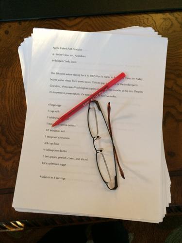 a taste of wa manuscript