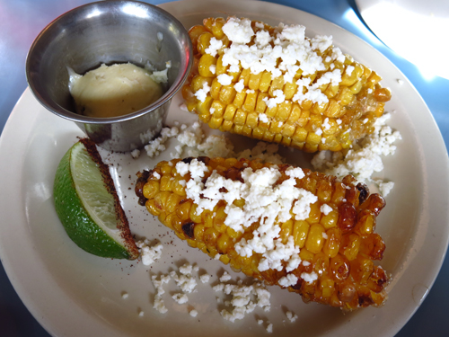 steubens fried corn with habanero butter