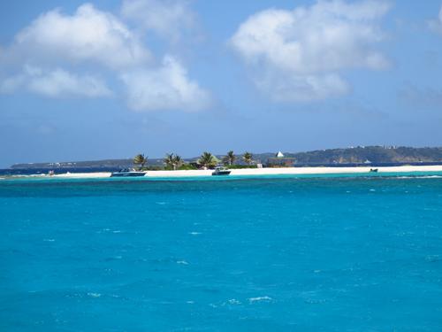 10 sandy island