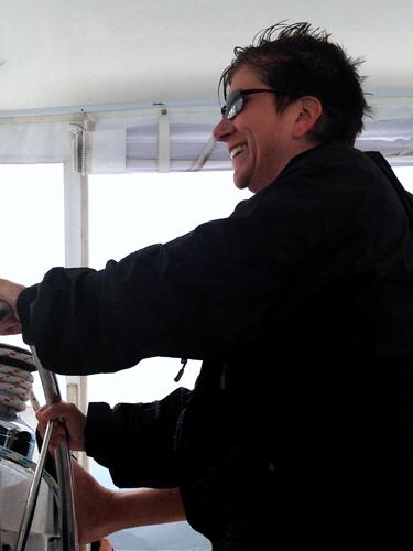 10 st maarten sailing in storm
