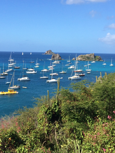 3 st barths boats anchored