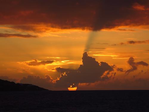 9 anguilla sunset