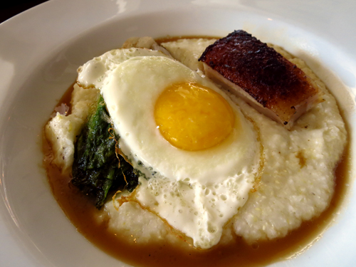 beast and bottle denver pork belly grits
