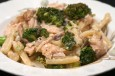 penne with salmon boursin broccoli
