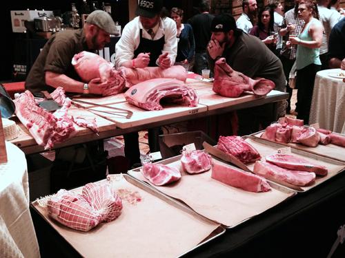 cochon butchery demo