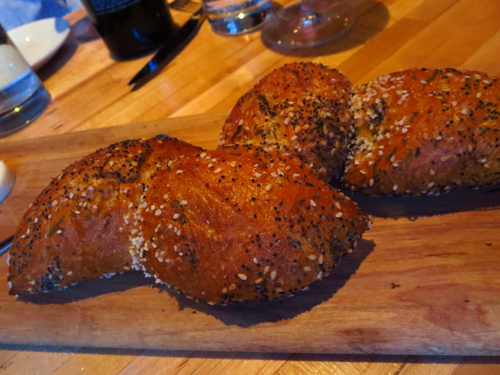 squeaky bean denver bread with honey butter 1