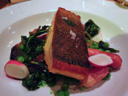 squeaky bean denver salmon with radishes 1