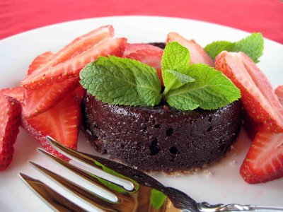 chocolate chipotle pudding cake
