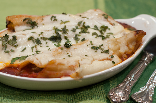 canelloni beef and vegetables bechamel 3 1