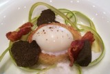 coohills denver chefs up front poached egg on brioche with truffles