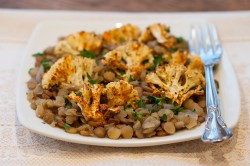 spiced cauliflower and lentils-2
