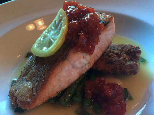 aspen food and wine classic salmon at brexi