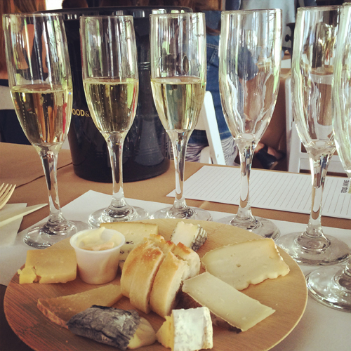 aspen food and wine classic sparkling wine and cheese pairing