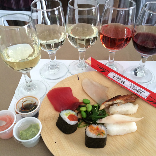 aspen food and wine classic sushi wine pairing
