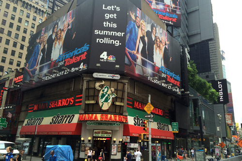new york 17 times square
