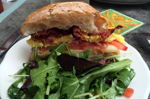 new york 24 sweetwater restaurant egg sandwich