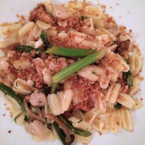 new york 32 the gander Gnocchetti Sardi Taleggio Mushrooms Green Garlic Parmesan