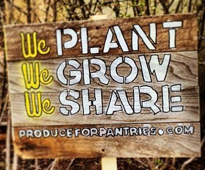 produce for pantries