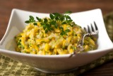 lemon orzo pasta with zucchini onion parmesan-1