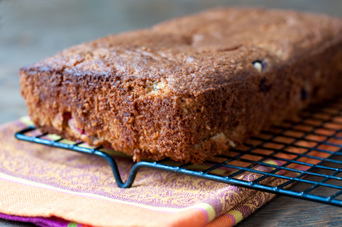 spiced sour cream plum bread 2-1