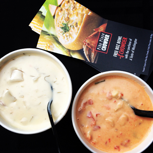 30 WA seattle pike place chowder
