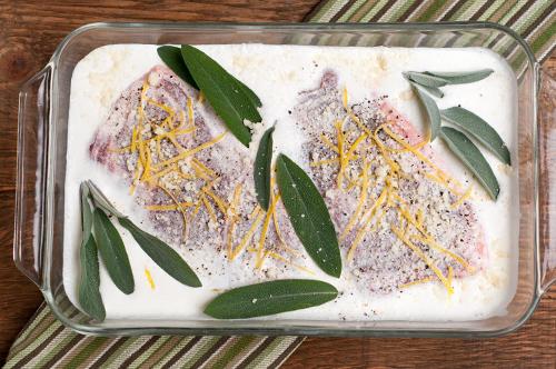 pork lemon garlic sage cream sauce 1-1