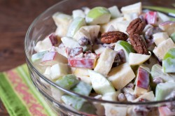 apple salad with noosa yogurt olomomo pecans 1-1