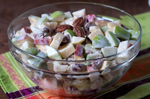 apple salad with noosa yogurt olomomo pecans-1