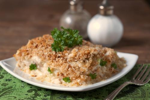creamy chicken casserole-1