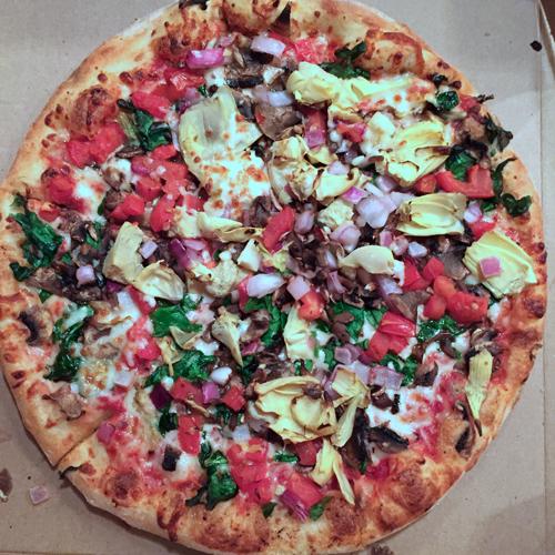 vegetarian pizza-1