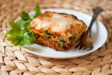 three-layer-meat-and-vegetable-lasagna